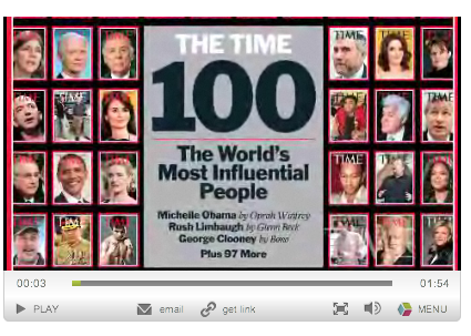 Times 100 Heroes and Icons